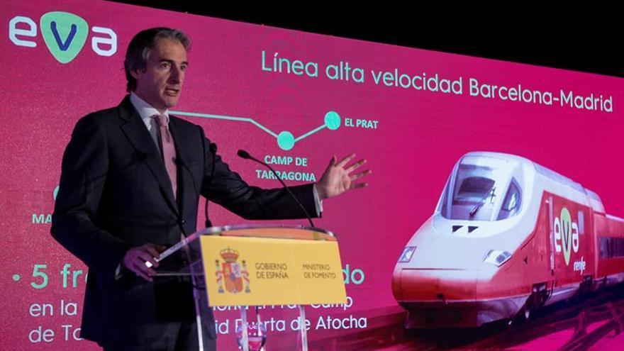 La alta velocidad renacerá en 2019 con EVA y billetes un 25 % más baratos