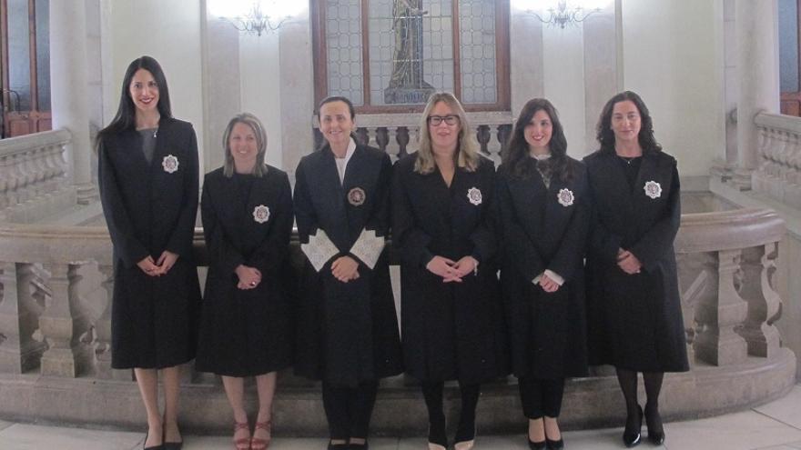 Cuatro juezas se incorporaran a juzgados de València, una a otro de Alicante y una a uno de Castellón