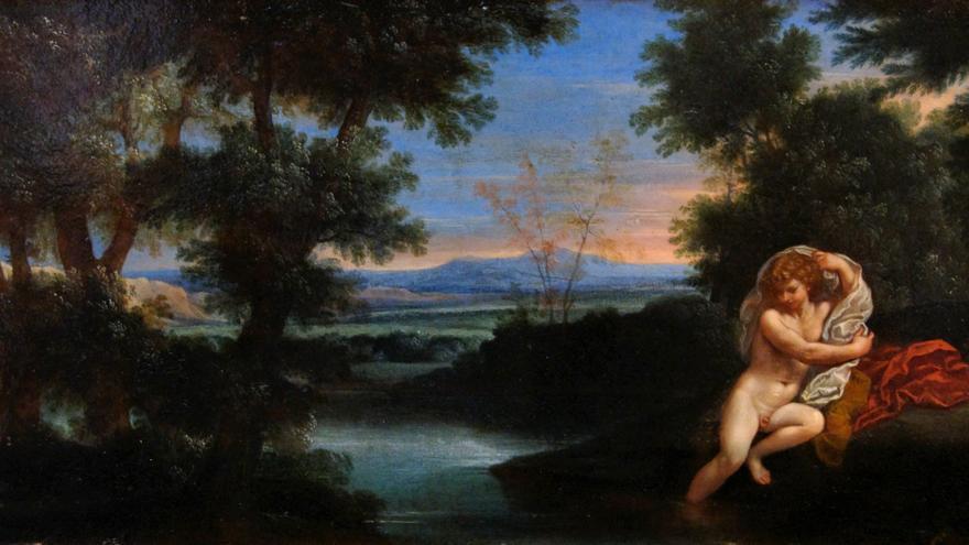 'Salmacis y Hermafrodito' (s.XVII), por Francesco Albani.