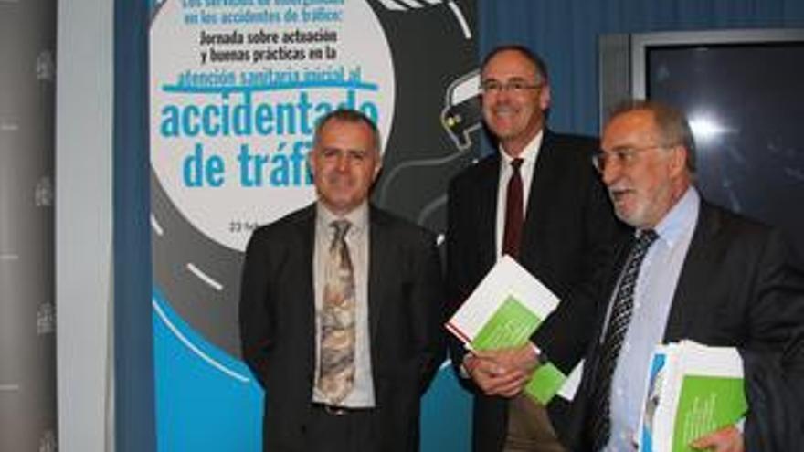 Ervigio Corral, Ildefonso Hernandez y Pere Navarro
