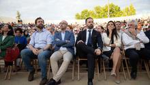 Acto en Valdemoro con Santiago Abascal, Rocio Monasterio y Jorge Buxadé, candidato al parlamento europeo