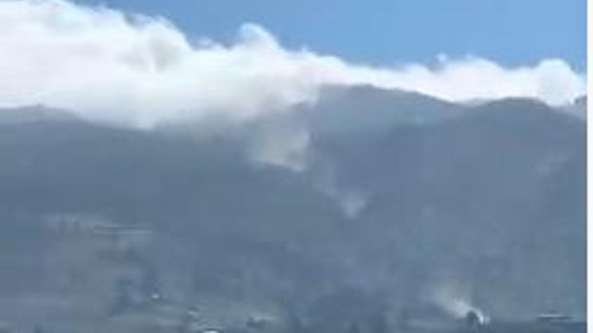 Desprendimientos en La Palma tras los últimos movimientos sísmicos
