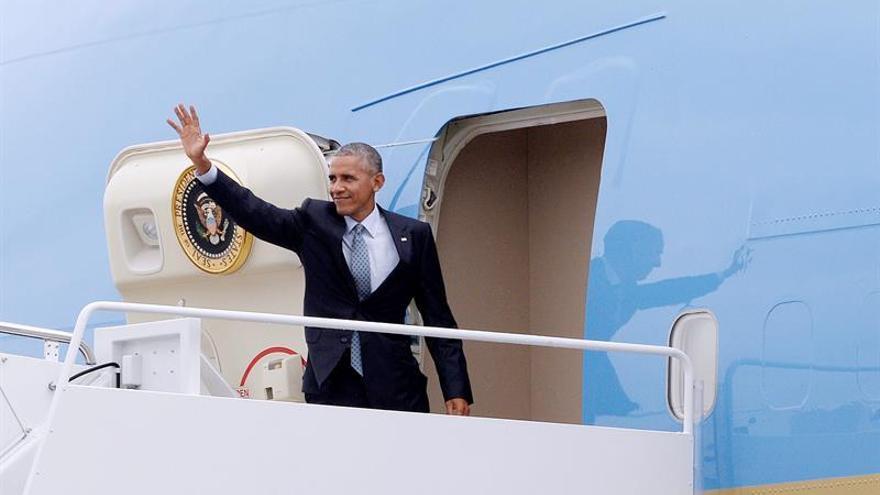 Obama inicia hoy su última gira internacional con paradas en Europa y Perú