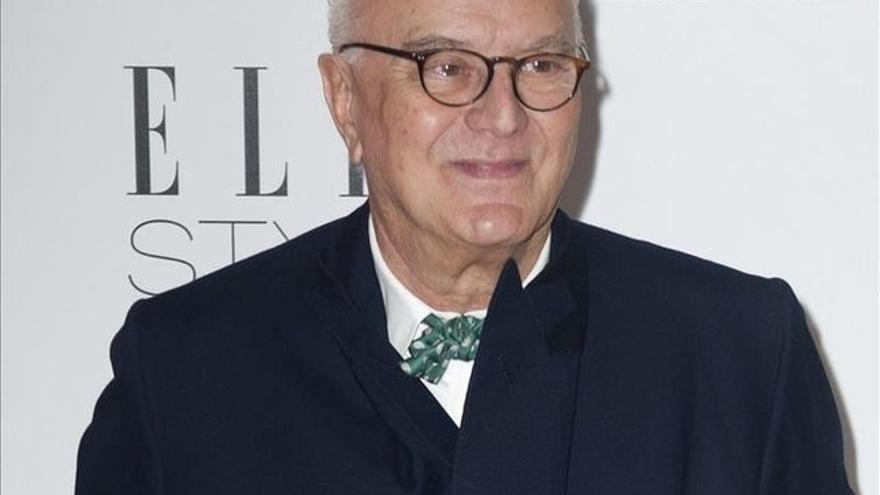 Manolo Blahnik en un homenaje en Nueva York.