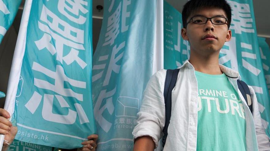 Una Corte condena al líder de las protestas en Hong Kong en 2014 por reunión ilegal