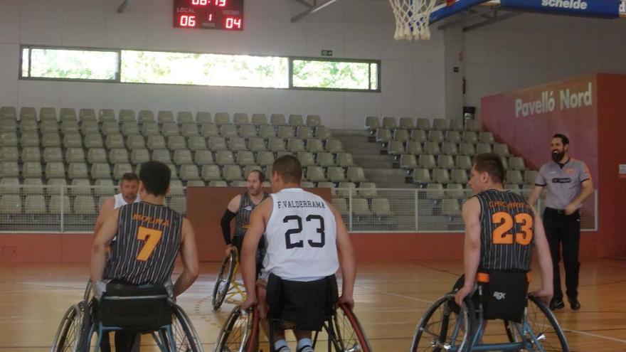 El Vistazul es por derecho propio conjunto de División de Honor de baloncesto en silla de ruedas