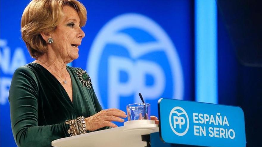 Esperanza Aguirre disertará en Guatemala sobre el futuro de Europa y España