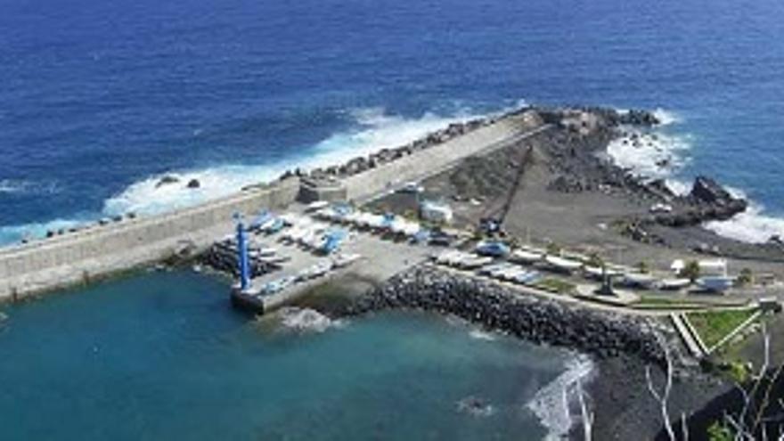 Vista aérea de Puerto Espíndola.