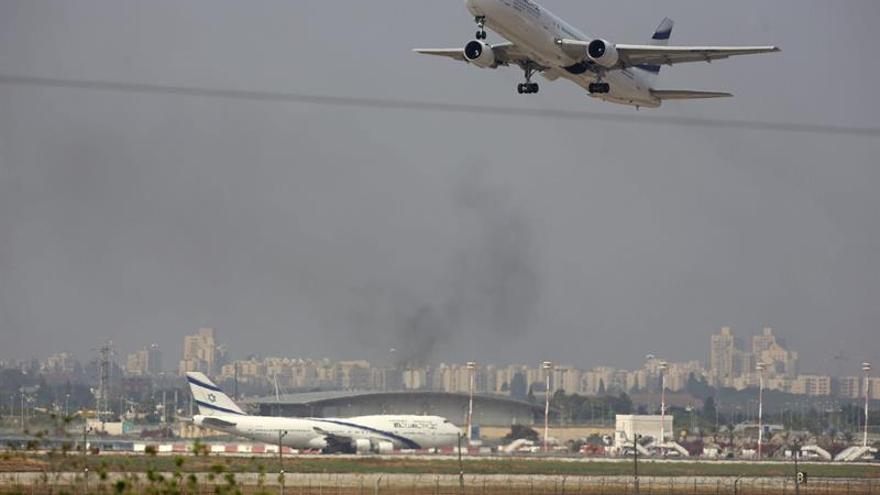 Cazas suizos escoltaron a avión de aerolínea israelí tras amenaza de bomba