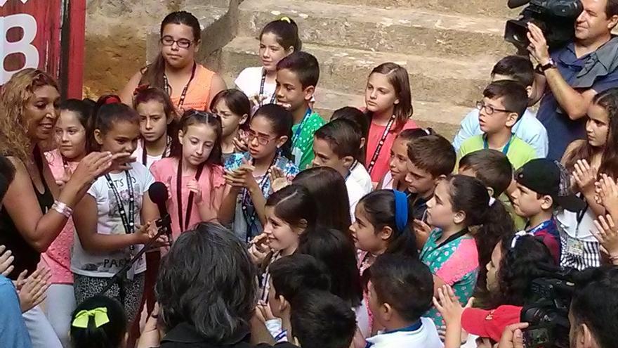 Más de 1.000 escolares participarán en actividades del programa de la Bienal 'Flamenco y patrimonio'
