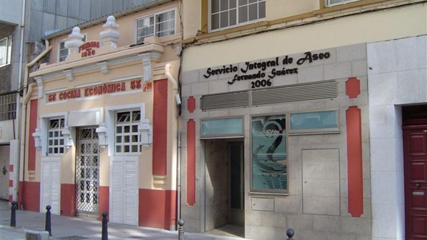 Cocina económica de A Coruña.