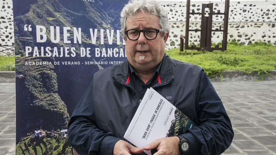 Juan Manuel Palerm, arquitecto, profesor de la ULPGC e integrante del comité ejecutivo del IV Congreso Mundial ITLA