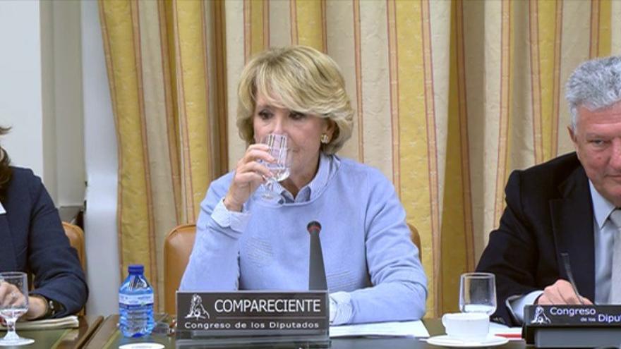 La expresidenta de la CAM Esperanza Aguirre.