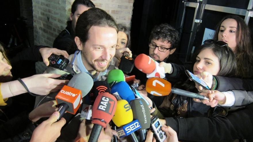 """Pablo Iglesias dice que si """"el propio Rajoy"""" reconoce su """"remontada"""", la posibilidad de ganar """"está muy cerca"""""""