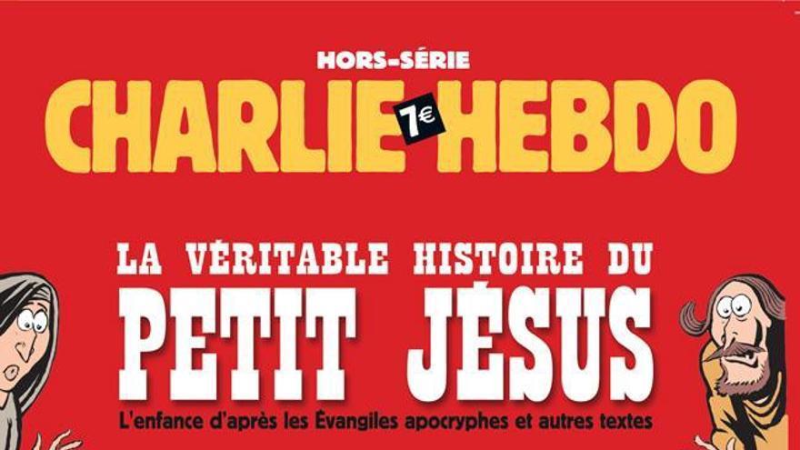 Portada del especial de Navidad de Charlie Hebdo