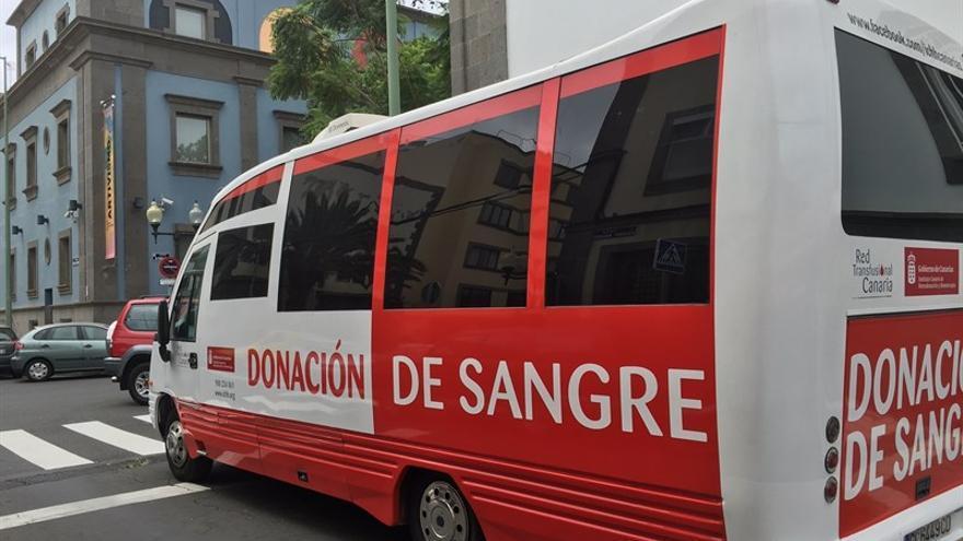 Unidad Móvil de donación de sangre (Europa Press)