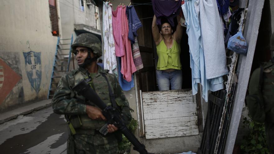 Amnistía Internacional ha denunciado abusos policiales como consecuencia de la celebración de los Juegos Olímpicos © AP Photo/Felipe Dana