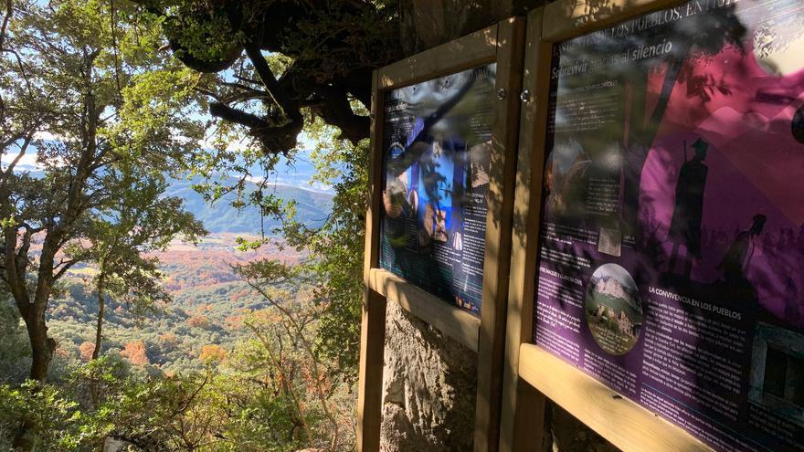 Los paneles se ubican en el entorno de la Peña Montañesa.