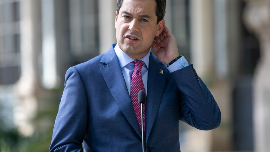 """Moreno, a Montero: """"Había solución y se ha demostrado para pagar a Andalucía sus 1.350 millones ..."""