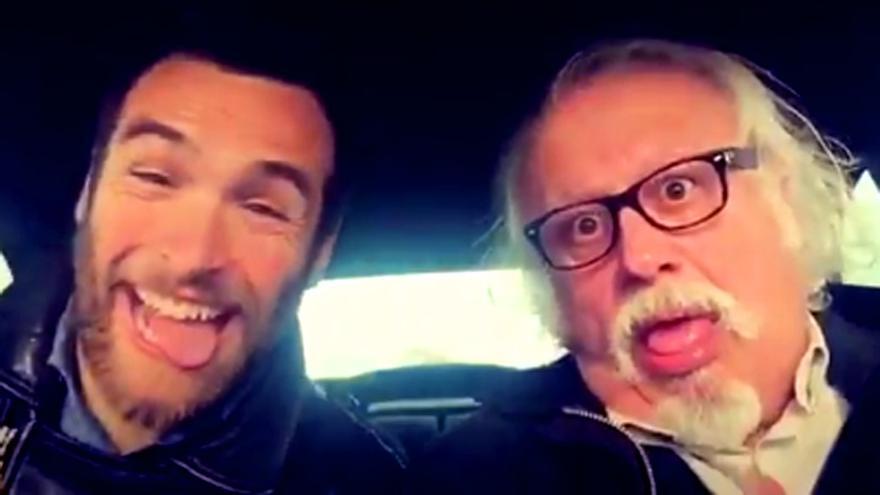 Echanove y Ricardo Gómez parodian la despedida de Miguel Alcántara en un vídeo