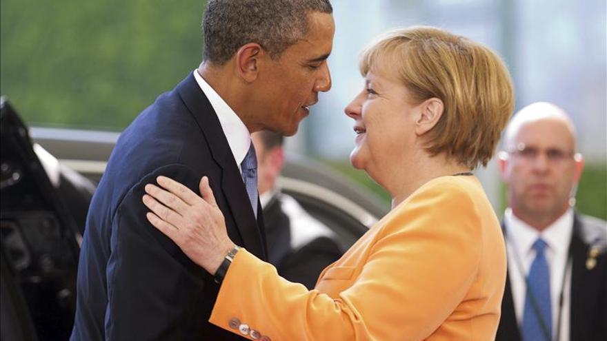 Obama y Merkel, en una imagen de archivo