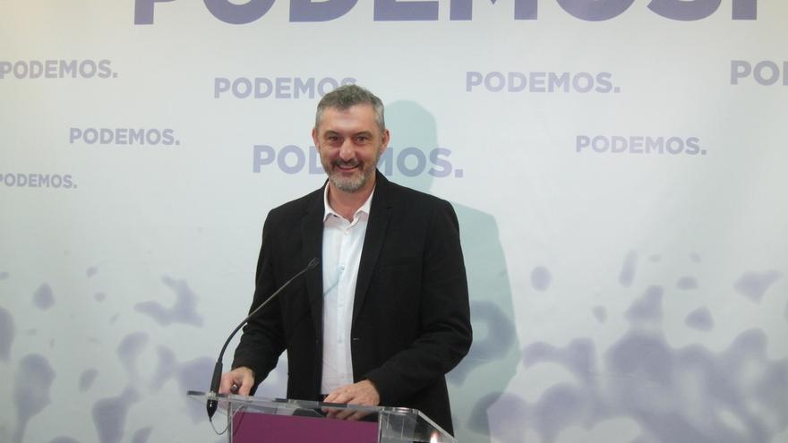 """Podemos afirma que López Miras """"podrá ser elegido por los capos"""" de Murcia pero """"no tiene el aval de las urnas"""""""