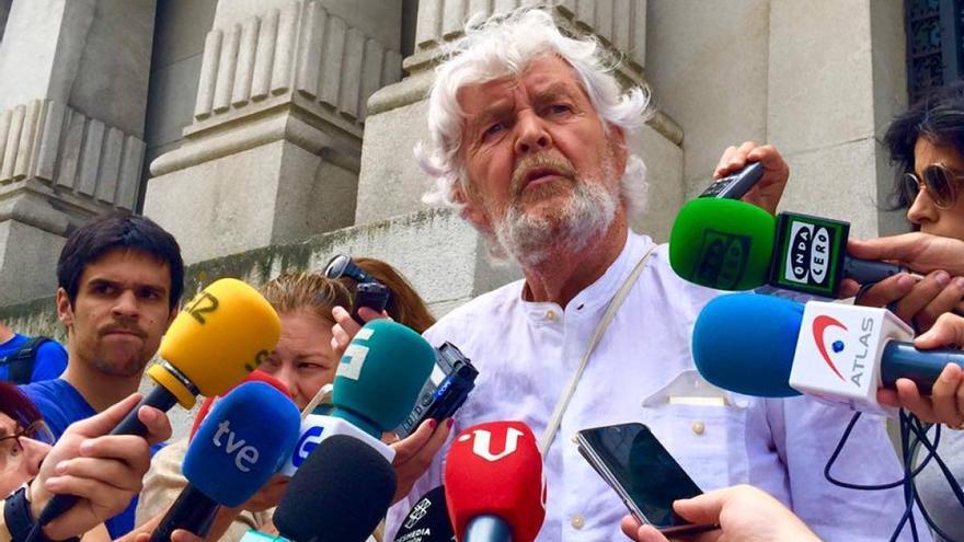 Xosé Manuel Beiras, líder de Anova