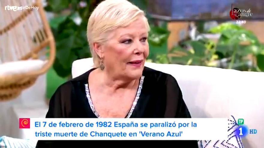 María Garralón recuerda con Máximo Huerta el día que España se paralizó por la muerte de Chanquete