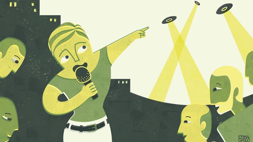Ilustración de Emma Gascó para Pikara Magazine