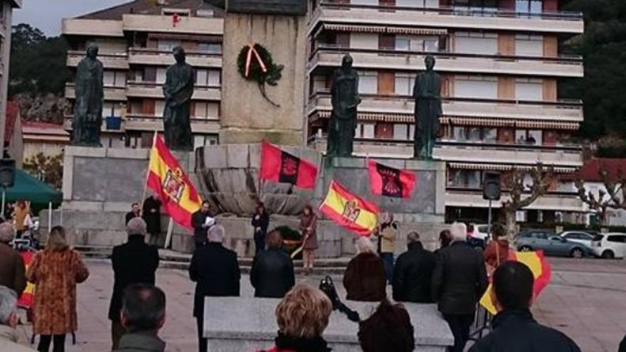 Homenaje a Carrero Blanco en el municipio cántabro de Santoña