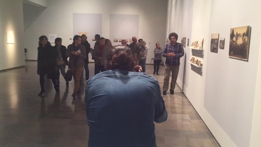 Un momento de la presentación de Fragments en el Centre del Carme.