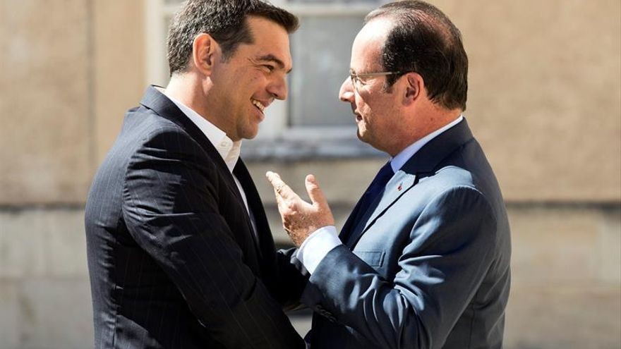 Tsipras recibe a los líderes del sur de Europa en una cumbre mediterránea