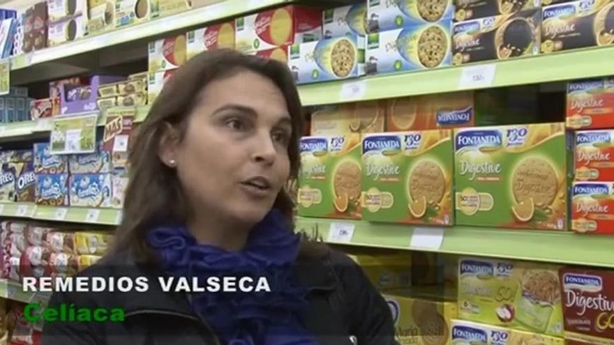 Remedios Valseca, celíaca.