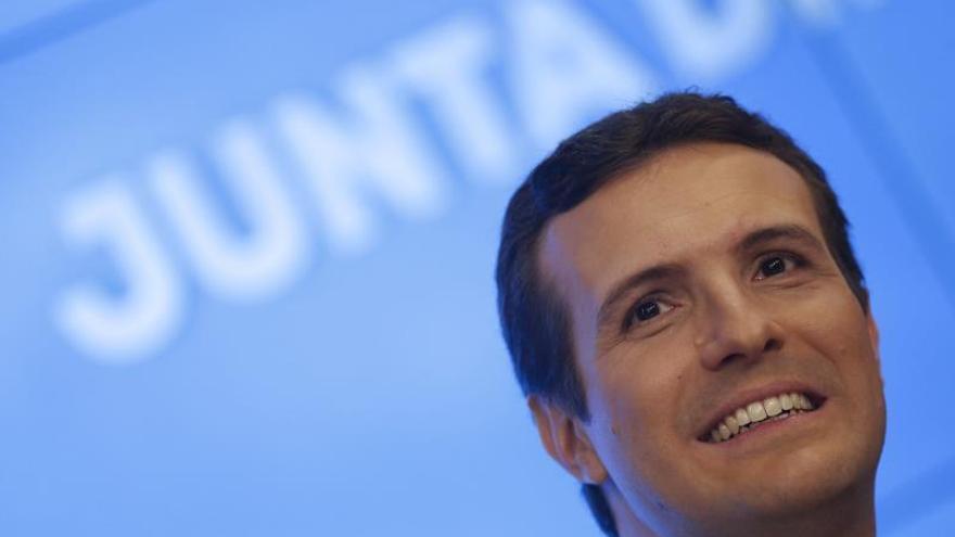 """Casado reta a Sánchez a un debate electoral """"donde quiera y cuando quiera"""""""