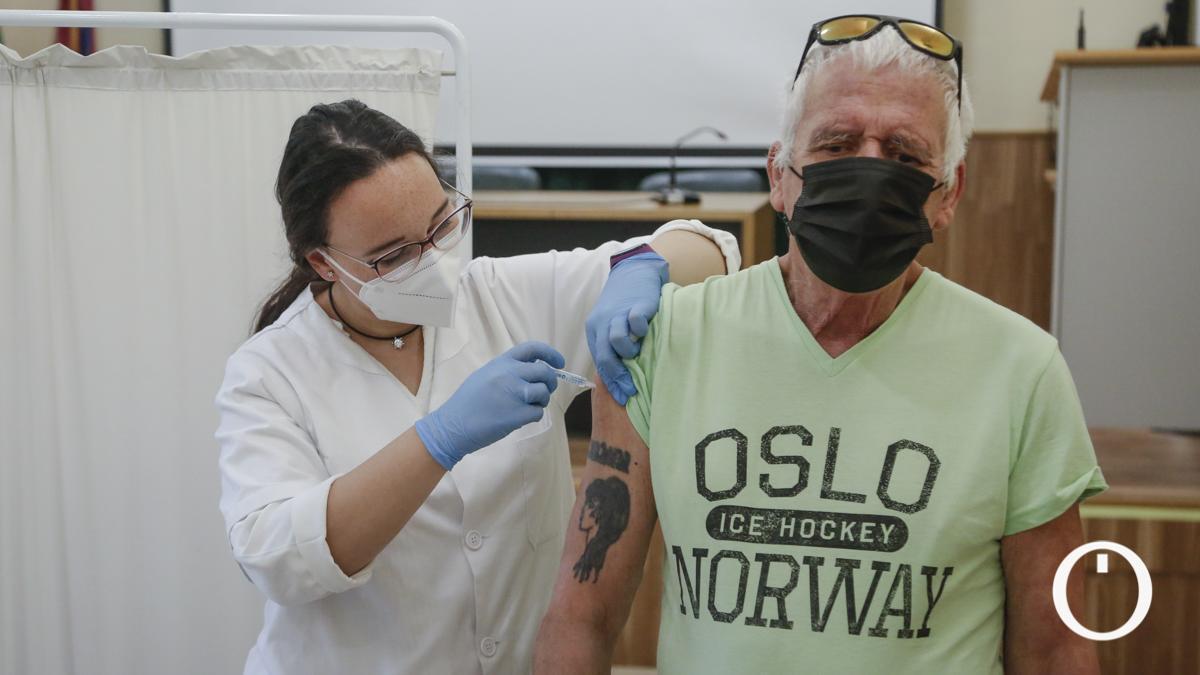 Vacunación en el Centro Cívico Lepanto