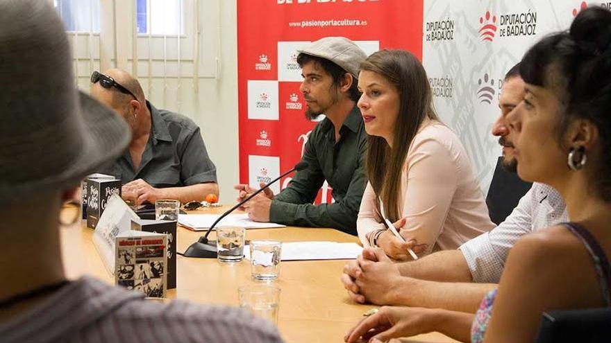 Músicos movimiento Diputación Badajoz
