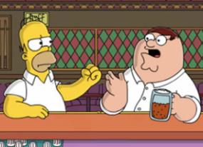 Primeras imágenes del crossover de 'Los Simpson' y 'Padre de familia'